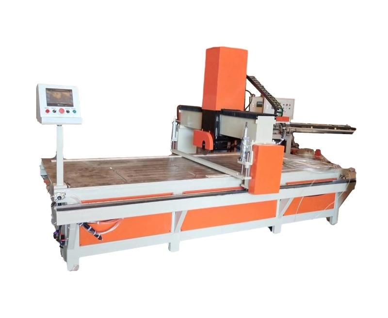 铝蜂窝芯切割机点胶采用气压控制